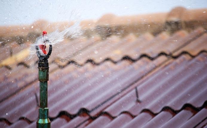 Roof Sprinklers