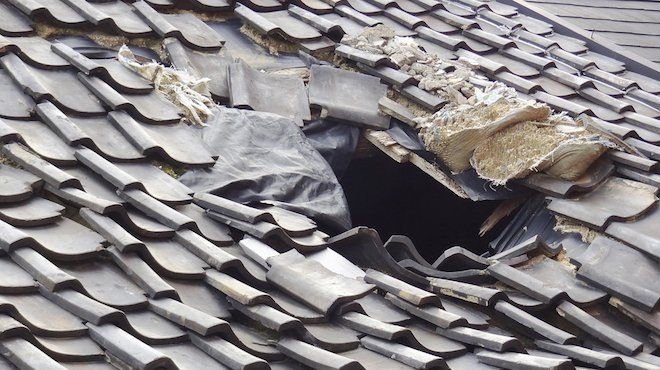 severely-damaged-roof